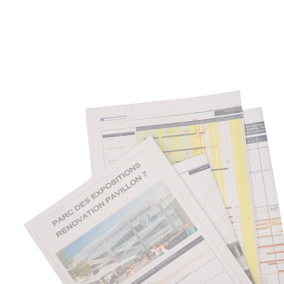 Plusieurs documents gestion de projets