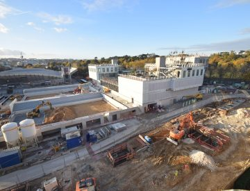 Modernisation du stade de Roland Garros
