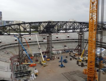 Construction U ARENA Nanterre