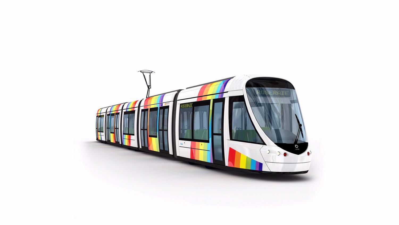 Rame de tram Angers