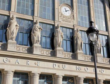 Vue Gare du nord - Paris