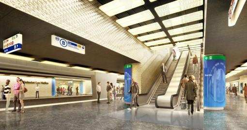 Hall RER Châtelet les Halles - Paris