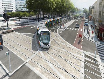 Lignes A, B et C du Tramway de l'agglomération Angevine