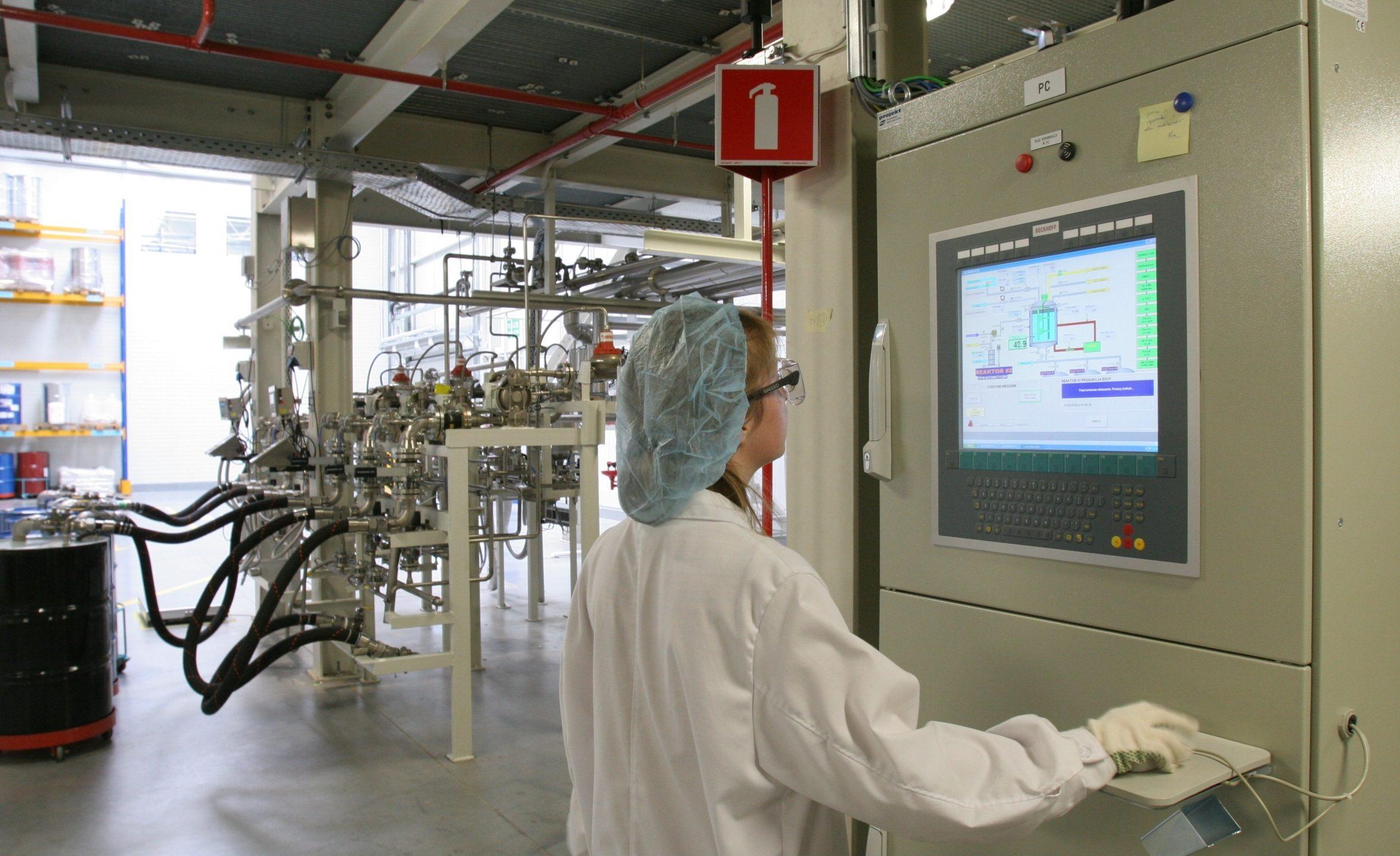 Unité de production pharma
